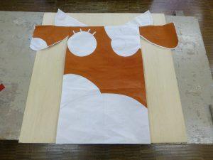 牛くん凧②